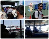 20140228-0302 再訪小琉球  Siaoliouciou,Taiwan:右上-牆上是王船公仔喔~接下來就是在酷暑之下排了一個多小時的故事了...(接下述)
