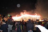 20090209鹽水蜂炮+新營+柳營:神轎出發前,先來個煙火瀑布暖場