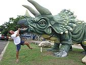20090625國境之南最終回:糟糕,繼阿星被蜥蝪咬後,這次被蜥蝪的親戚恐龍咬了