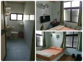 20161029_1031 小琉球(上) Siaoliouciou,Taiwan:簡約乾淨清爽,有電扇很加分(也有冷氣).最愛有窗戶的房間跟衞浴.喜歡小琉球乾燥的氣候,浴室乾得很快