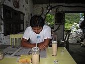 20090625國境之南最終回:好喝的花茶奶茶,牆上滿滿是單車環島的騎士留下的留言