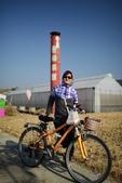 20131130-31苗栗苑裡公館 Miaoli,Taiwan:騎到一個叫愛情果園的地方(看起來不太吸引人,沒有進去)(難吃到吃不下的蒸餃一直帶著,哈)