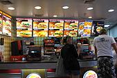 20090101斯米蘭、普吉島和曼谷:普吉島機場,貴到往生的Burger King,套餐要239元