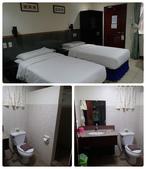 20191007_Panglao,Bohol Part 1:房間簡單,非常乾淨,有冰箱,WiFi速度很快,床舒服.對房間我很滿意.餐廳只有50分