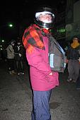 20090209鹽水蜂炮+新營+柳營:阿星熱到安全帽整個起霧,汗如雨下,辛苦了