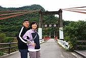 """20071229-20080101台東:舊""""鹿鳴橋"""",只容小車通過,可能是low season,沒有遊客,很好拍照"""