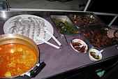 20090101斯米蘭、普吉島和曼谷:第一天到船上,集合後吃晚餐,很好吃,但當天風浪大,阿娟吐了