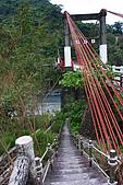 20071229-20080101台東:橋邊有一小徑可走到鹿嗚溪