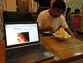 20090625國境之南最終回:恆春唯二可上網的店家之一:多福豆花店,但沒冷氣很悶熱