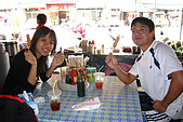 20070405-08小琉球、高雄:在東港吃簡單的午餐,很好吃的羹麵跟旗魚黑輪