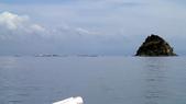 20171004-1011_Anilao Part III:原來布丁島(Sombrero)這個角度長這樣,差好多!被海面上滿滿的潛水船驚到!