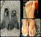20170513-0514_東北角 Northeast Coast,Taiwan:試穿號稱600美金的高級蛙鞋,把我們折磨的唉唉叫,所以,貴不等於好,適合自己的最好,哈 (End)