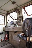 20090209鹽水蜂炮+新營+柳營:五分車的駕駛室還真是一片混亂