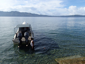 20170404 Ambon Diving 安汶潛水趣:20170404-超棒的潛水天~今天要到對岸潛水,浪平水清, Excellent !