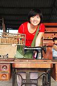 20090209鹽水蜂炮+新營+柳營:古早裁縫機,我家還有一台,是我媽的嫁妝