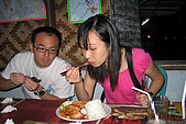 20080425Moalboal - 20080502:阿弟:小狗臉分我吃一口,我的菜怎麼上得那麼慢呀