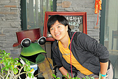 20081214花蓮壽豐:民宿門口的擺飾-青蛙先生