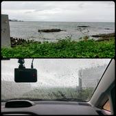 20170604_梅雨鋒面剛過的蝙蝠洞 Northeast Coast,Taiwa:真難想像原本風平浪靜會突然起大浪,休息時的雨大到我躲回車內,一切都溼答答,真不舒服(The End)