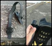 20170429-0501_東北角 Northeast Coast,Taiwan:養兵千日用在一時,蛙鞋帶忽然斷掉,買了n年的備用蛙鞋帶終於派上用場