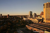 Austin, Texas:Day view from hotel room