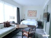 澳門5⭐️君悅酒店:此次入住超豪華特大雙人床房 54坪空間 2人住非常寬廣