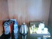 澳門5⭐️君悅酒店:房內有附膠囊咖啡機及旁邊的茶葉 可免費使用