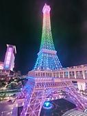澳門巴黎人🗼巴黎塔:鐵塔會變色  真的很夢幻