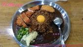台灣咖哩:炸雞排台灣咖哩飯