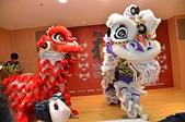 泰山獅王爭霸戰 十二載成果豐碩:紅白雙獅逗趣演出.JPG