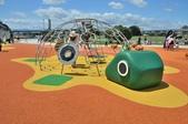 主題公園堤坡滑梯樂園 遛小孩新景點:金龜〈中華龜〉攀爬座.JPG