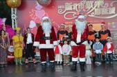 新北歡樂耶誕城 邀請全國朋友一起來:慶祝聖誕節,交通局長趙紹廉及消防局長打扮成聖誕老公公.jpg