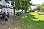 銀髮俱樂部慶揭牌 局長張錦麗同賀:光華公園樹木成蔭綠草如茵.JPG
