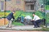 山佳鐵道紅到日本 大仙市長率公所團隊參訪 :大仙市長與議員玩3D立體圖.JPG