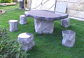 stone石桌椅:石桌#654