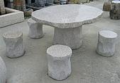 stone石桌椅:花崗石石桌2