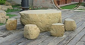 stone石桌椅:砂岩石桌