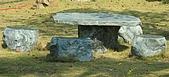 stone石桌椅:蛇紋石桌