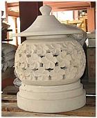 庭園燈&石雕:火山花01