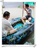 2009莫拉克颱風(8/9進度) :水中送炭,碳燒咖啡的碳