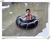 2009莫拉克颱風(8/9進度) :東港鎮唯一比得出V的人