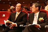 第十六屆東元獎暨Green Tech創意競賽頒獎典禮:劉兆凱董事長(左)、史欽泰董事長(右)