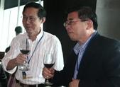 2009東元獎聯誼會活動:曲新生副院長與羅仁權會長.JPG