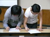 2011東元暑期創造力教育營隊-志工研習課程:隊輔組好了...好難選呀!