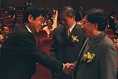 第十六屆東元獎暨Green Tech創意競賽頒獎典禮:張豐志教授(左)、吳家麟教授(中)、劉兆玄院長