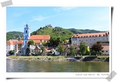 100.5.11奧捷之旅DAY2:多瑙河遊船~杜倫修坦(Dürnstein)