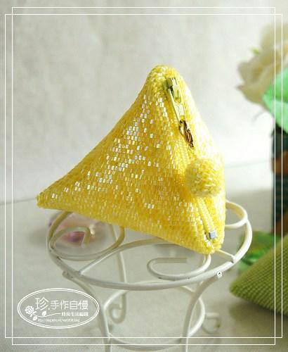 手工珠包:11/0圓珠系列:粽子包