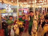 蓮蓮戶外教學--小人國和OPEN小將:陪著班媽我玩一下旋轉木馬!