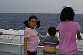 綠島之旅:當天海上風浪不大