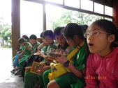 蓮蓮戶外教學--小人國和OPEN小將:研究一下文宣品