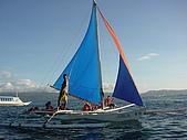 Boracay 2009:sunset sailing